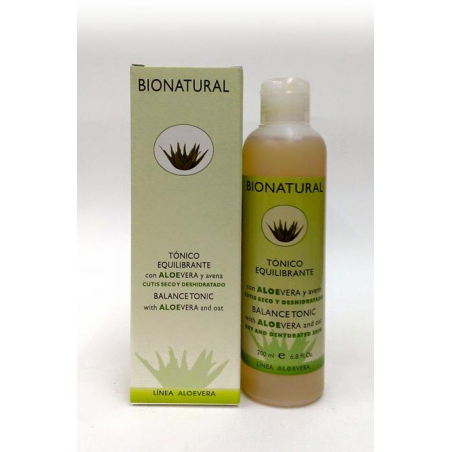 FACIAL TONER WITH ALOE AND OATS 200 ml