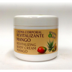 ARGAN-ALOE REVITALIZING BODY CREAM WITH MANGO (500 ml)