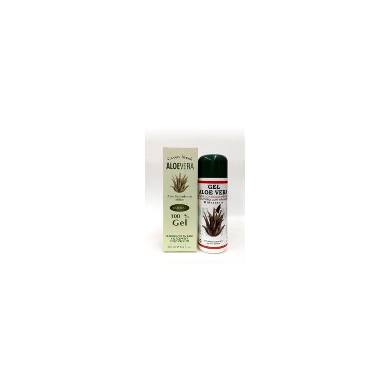 GEL ALOE VERA DERMOGETICO 250 ml 100% PURO