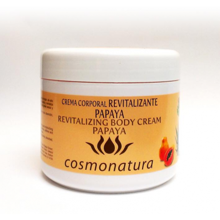 CREMA CORPORAL REVITALIZANTE PAPAYA 500 ml