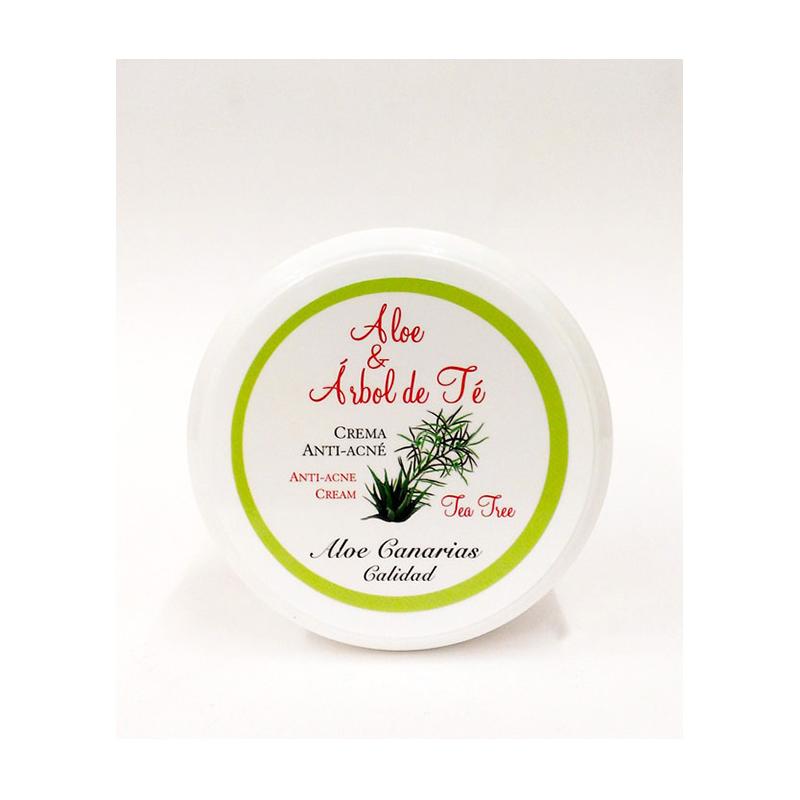 Crema Aloe Vera + Arbol del Té 150ml (Anti-Acné)