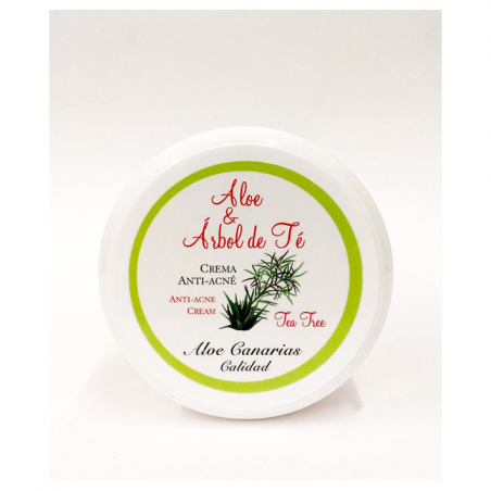 ALOE VERA+TEA TREE CREAM ANTI-ACNE 150 ml