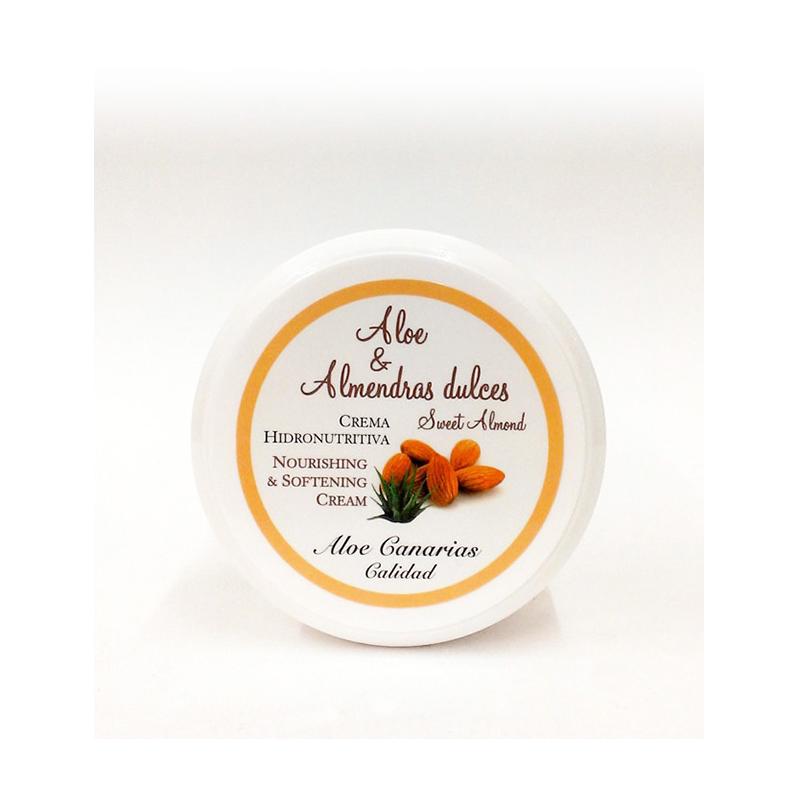 Crema Aloe Vera + Almendras Dulces 150ml (Hidronutritiva)