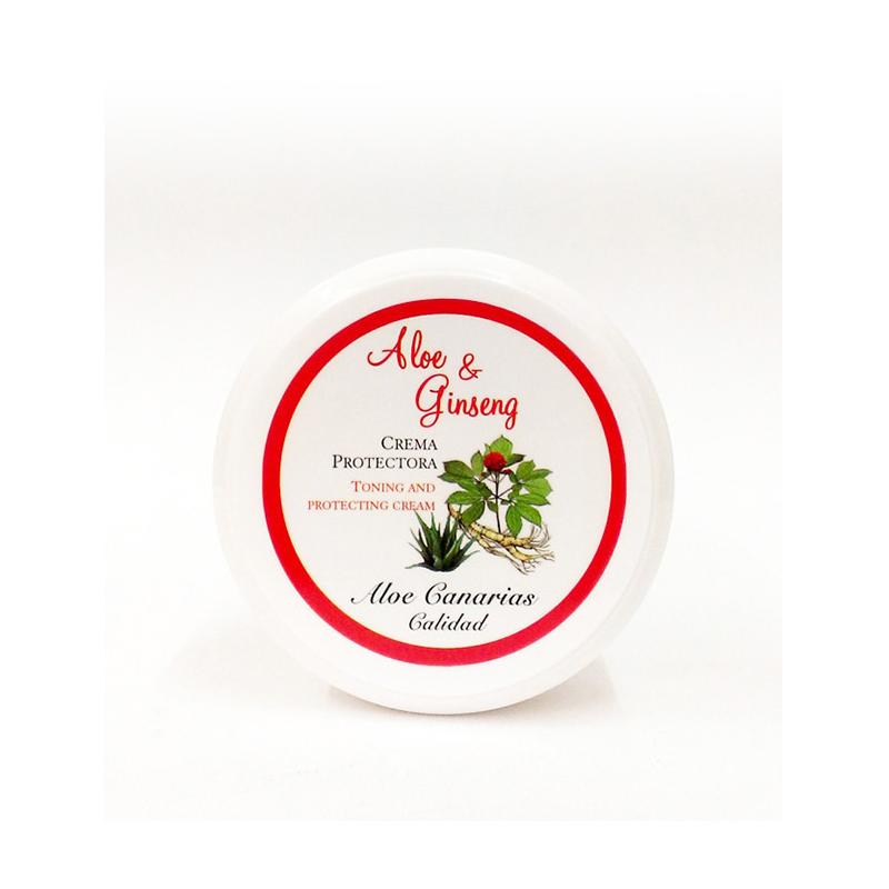 Crema Aloe Vera + Ginseng  150ml (Protectora - Tonificante)