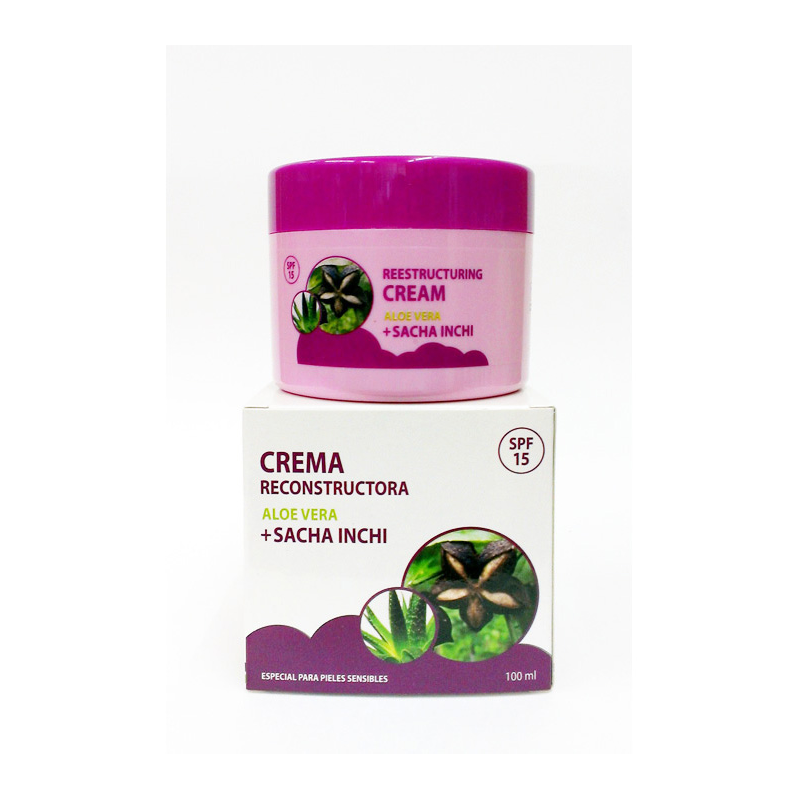 Sacha Inchi - Aloe Cream 100ml (crema facial reestructuradora)