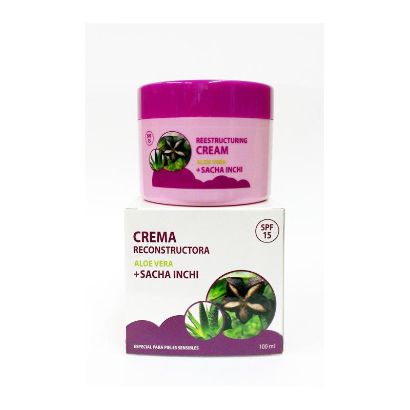 Sacha Inchi - Aloe Cream 100ml (crema facial reestructuradora)