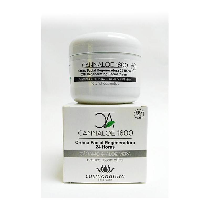 CANNALOE 1600 - CREMA FACIAL REGENERADORA 24h 100 ml