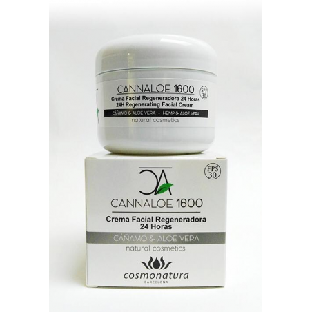 CANNALOE 1600 – REGENERIERENDE GESCHICHTSCREME 24H 100 ml