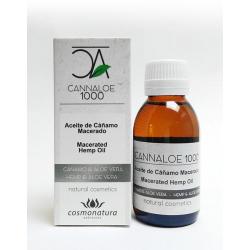 CANNALOE 1000 - Aceite de Cáñamo Macerado 100 ml