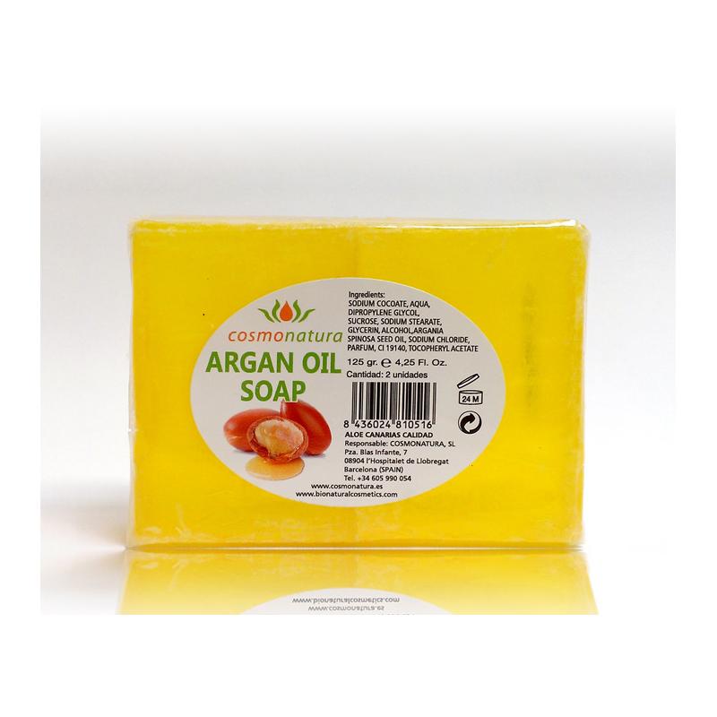 JABON AL ACEITE DE ARGAN (90 gr)