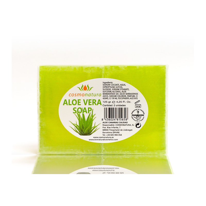 ALOE VERA SOAP WITH GLYCERINE 125 gr