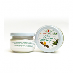 FACIAL CREAM WITH TEA TREE OIL AND ALOE VERA 120 ml