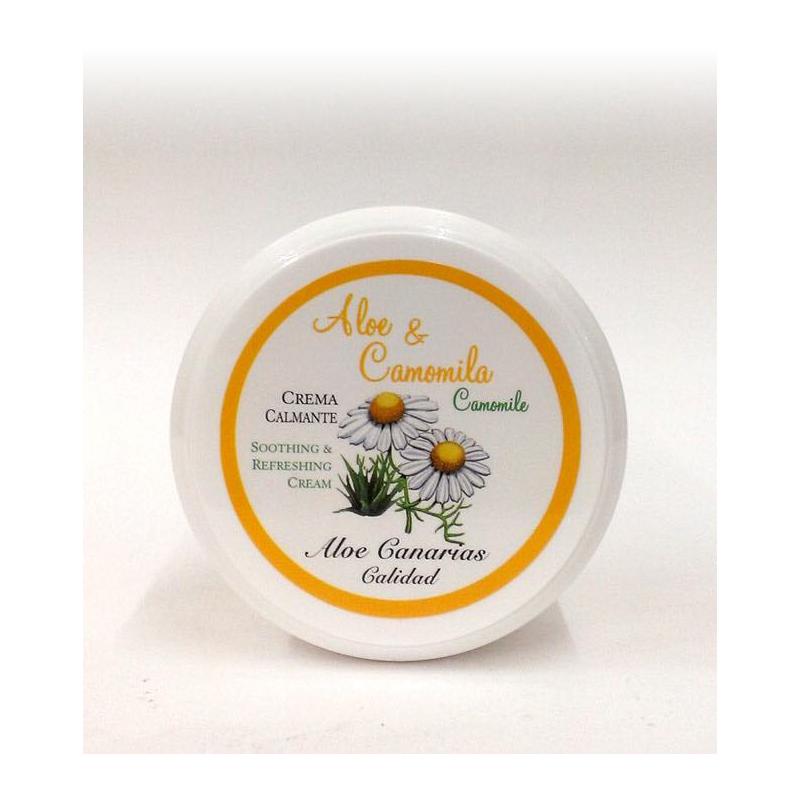 Crema Aloe Vera + Camomila 150ml (Calmante - Refrescante)
