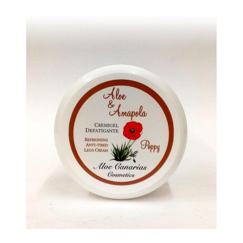 Cremigel  Aloe Vera + Amapola  150ml (Piernas  Cansadas)