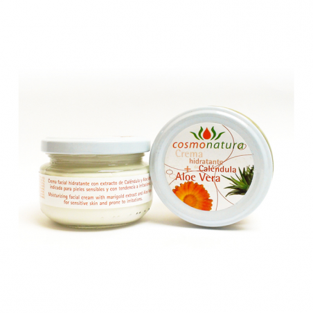 MOISTURIZING FACIAL CREAM WITH MARIGOLD AND ALOE VERA 120 ml