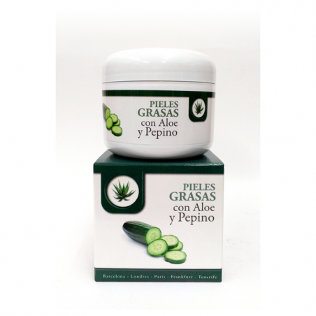 CREAM-GEL FOR OILY SKIN WITH ALOE AND CUCUMBER 100 ml