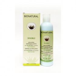 EMULSION DESMAQUILLANTE CON ALOE Y AZULENO (200 ml)