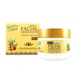 CREMA HIDRATANTE FACIAL ARGAN - ALOE 100 ml