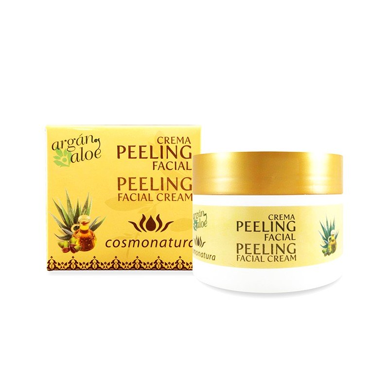 PEELING  FACIAL ALOE - ARGAN 100ml