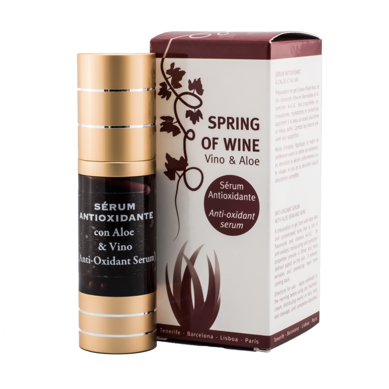 SERUM FACIAL ANTIOXIDANTE DE VINOTERAPIA SPRING OF WINE (30ml)