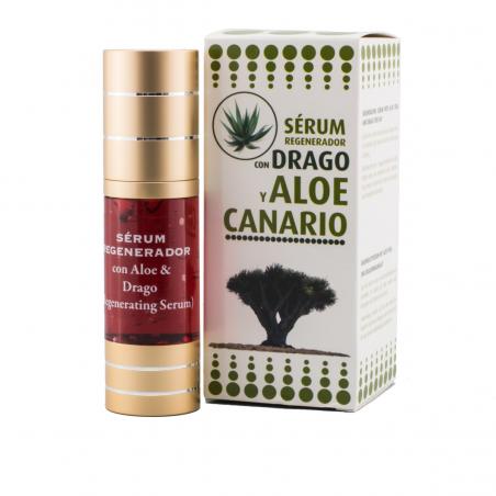 REGENERATING SERUM WITH ALOE VERA AND DRAGO TREE SAP (30 ml)